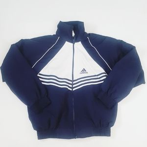 VINTAGE Adidas Original windbreaker jacket sz S